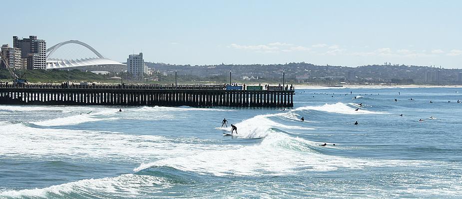 Surfen Durban, Zuid-Afrika