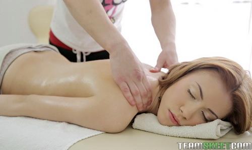 RubATeen.com - Jane - A sexy redhead massage