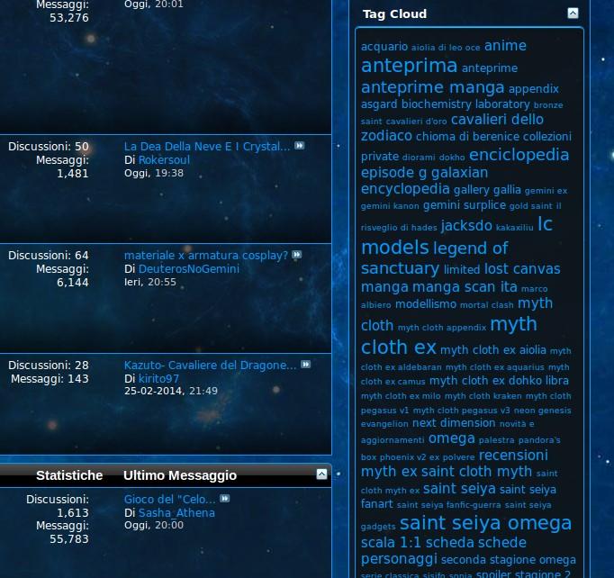 Guida alla Navigazione del Forum