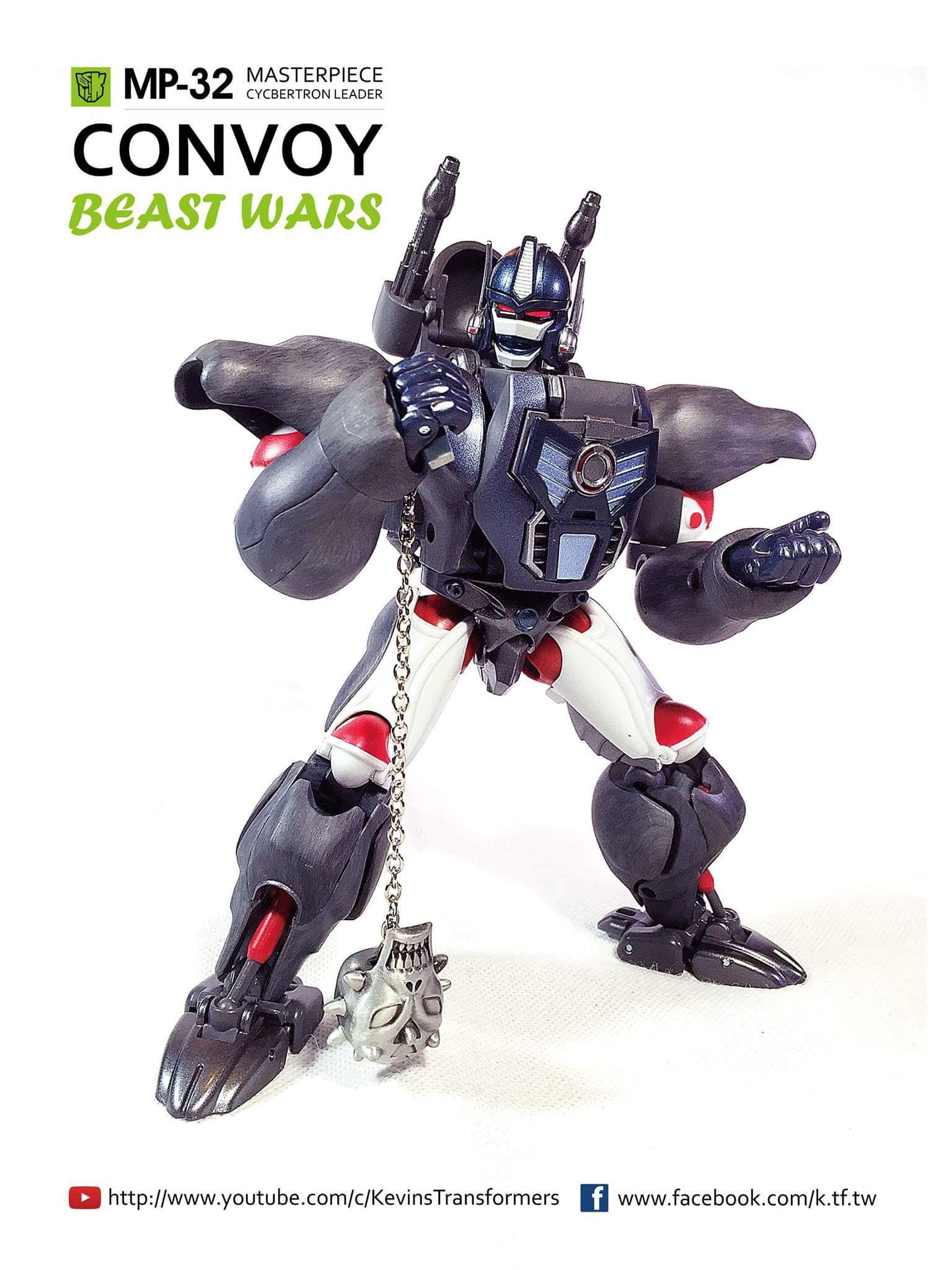 [Masterpiece] MP-32, MP-38 Optimus Primal et MP-38+ Burning Convoy (Beast Wars) - Page 3 HFsxjXEX
