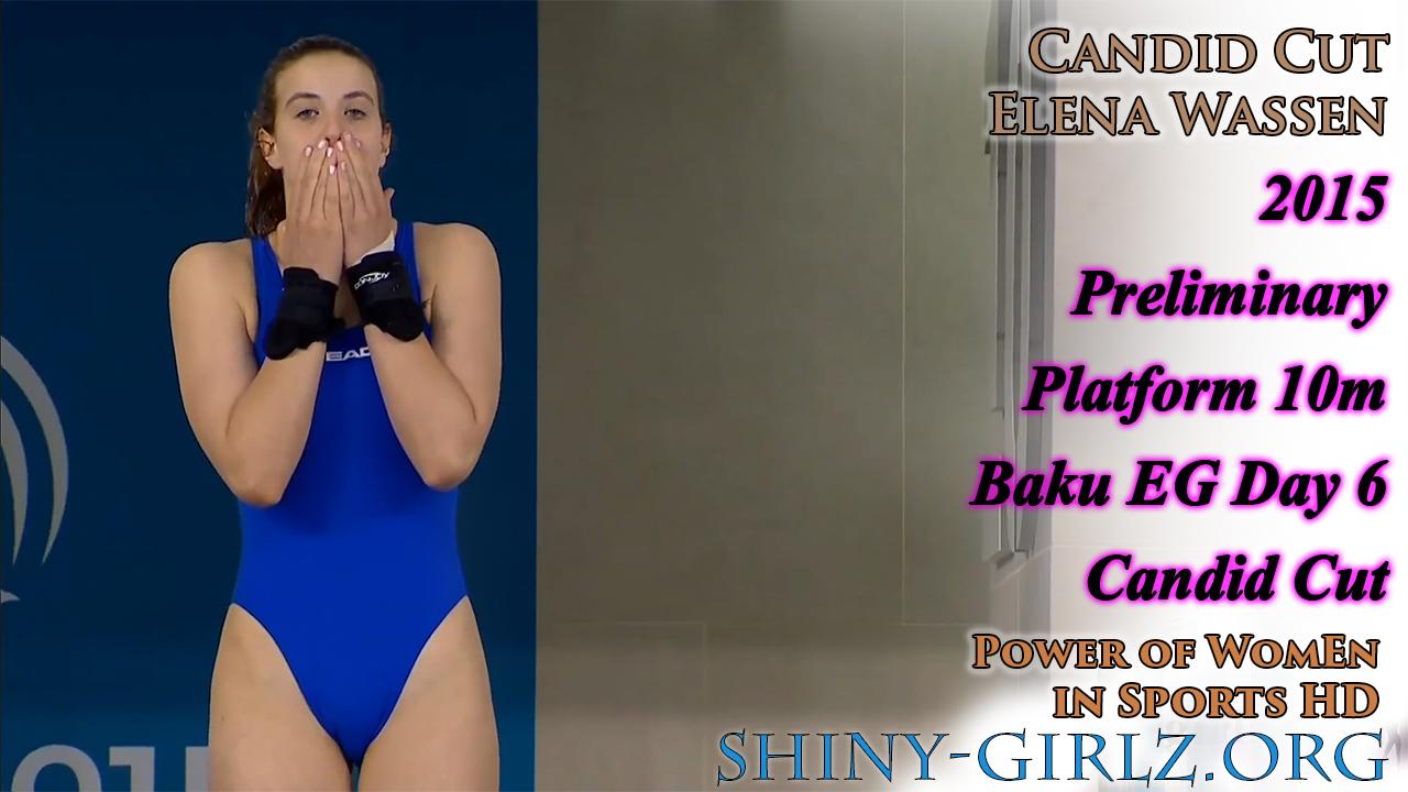 2015 Elena Wassen – Preliminary Platform 10m – Baku EG Day 6 (Diving)