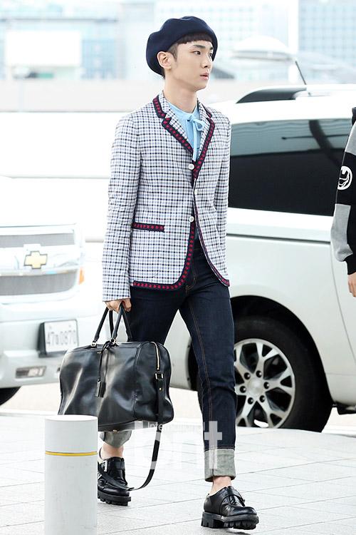 [IMG/160715] Jonghyun, Key @ Aeropuerto Incheon hacia Japón. XcIaS4kL