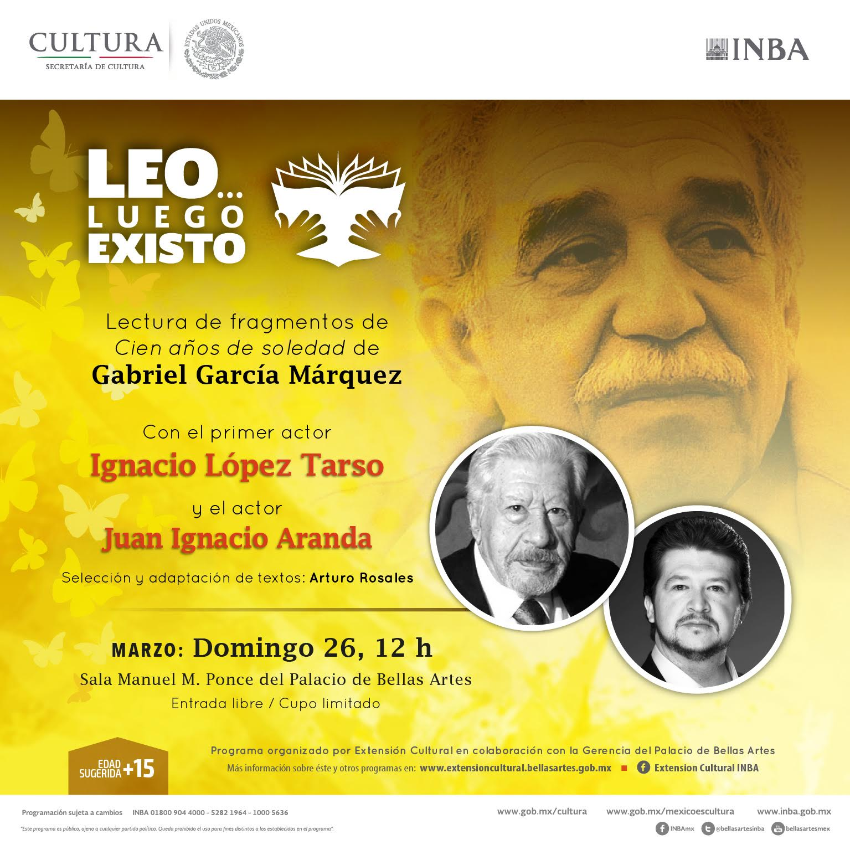 Hay que leer a los buenos autores: Ignacio López Tarso