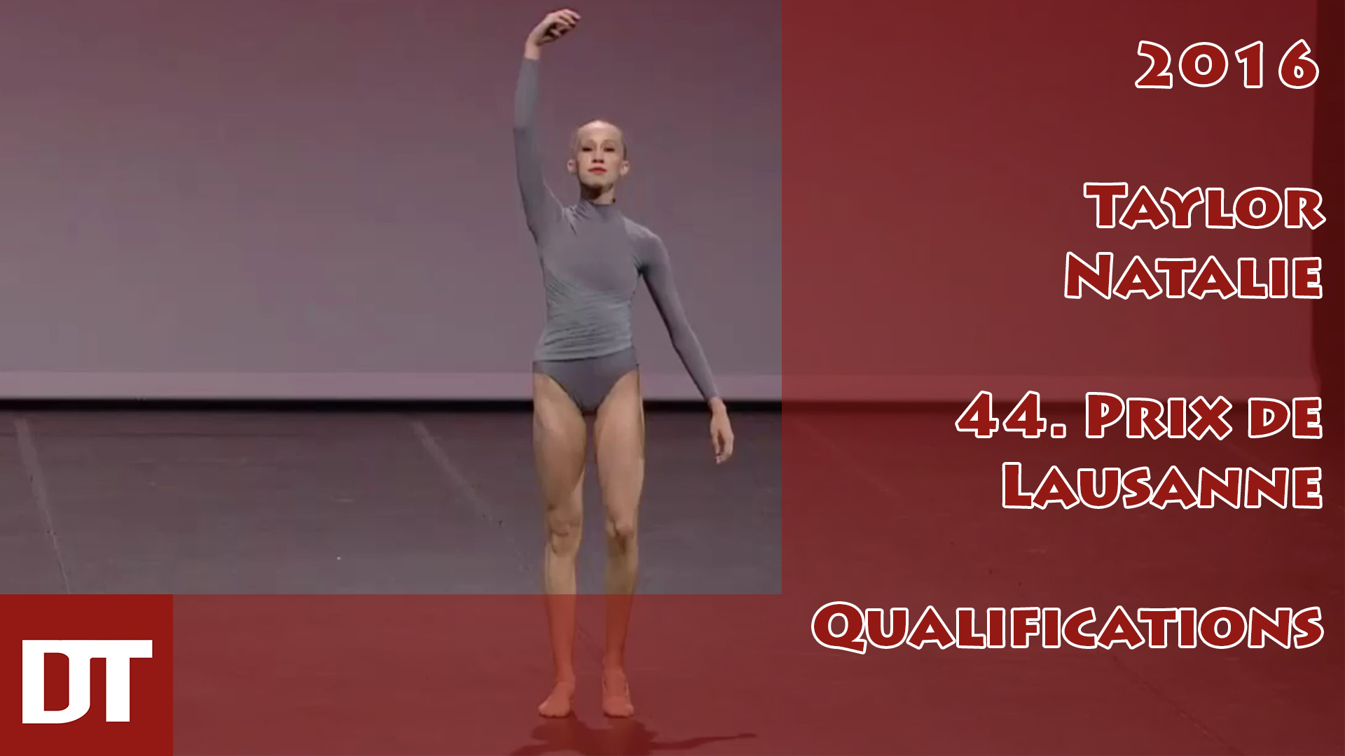 2016 – Taylor Natalie – 44. Prix de Lausanne – Qualifications