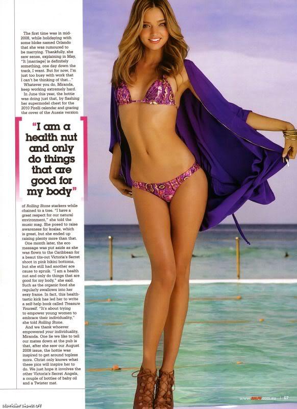 Miranda Kerr in sexy bikini for Ralph AbrEsh88