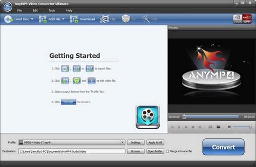 AnyMP4 Video Converter Ultimate 7.0.38 Multilingual