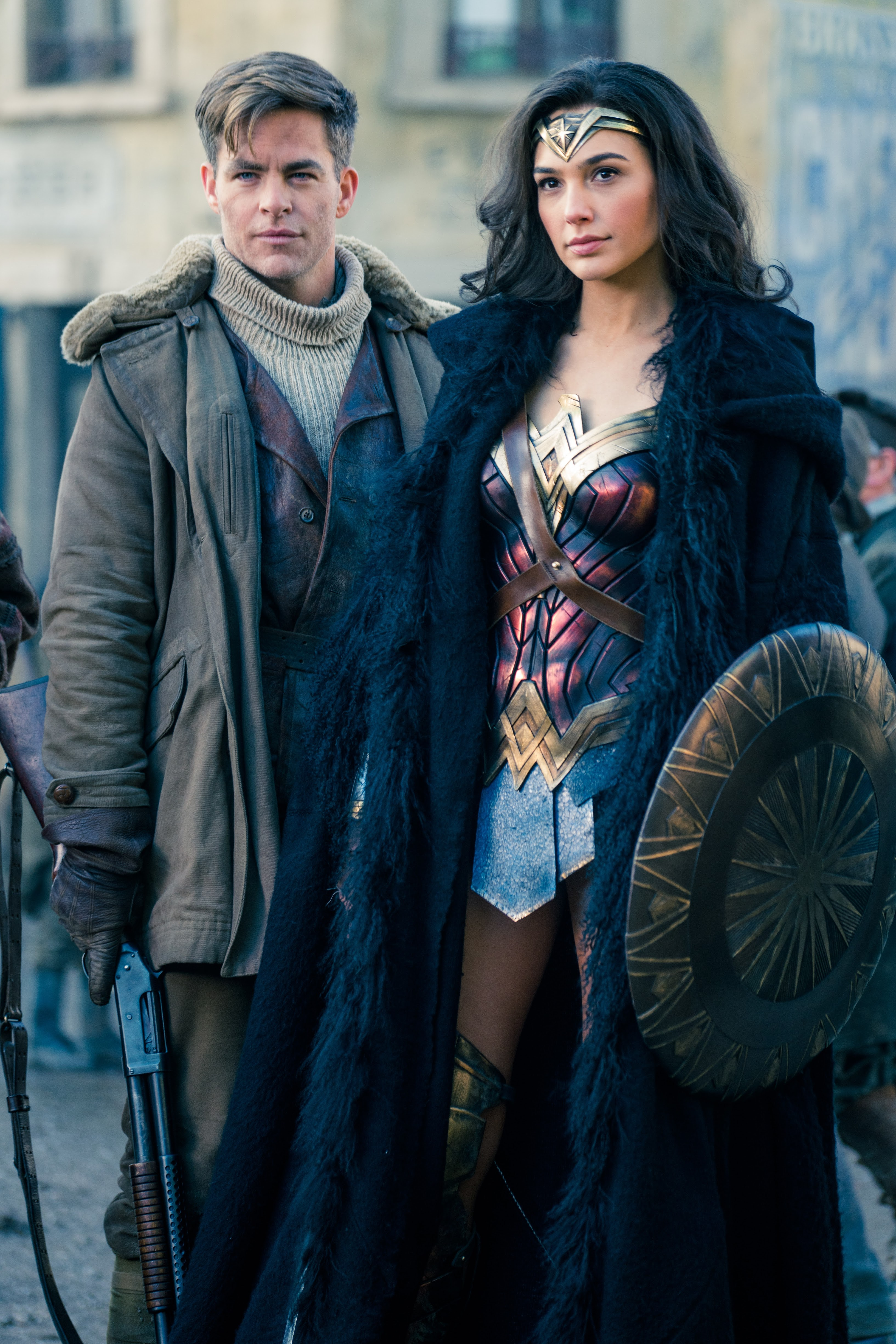 Wonder Woman Also Stars Chris Pine Robin Wright Danny Huston David Thewlis Ewen Bremner Said Taghmaoui And Lucy Davis Directed By Patty Jenkins