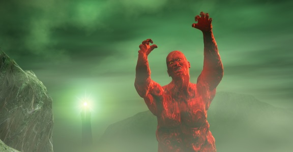 Obraz Night of the Red Zombie