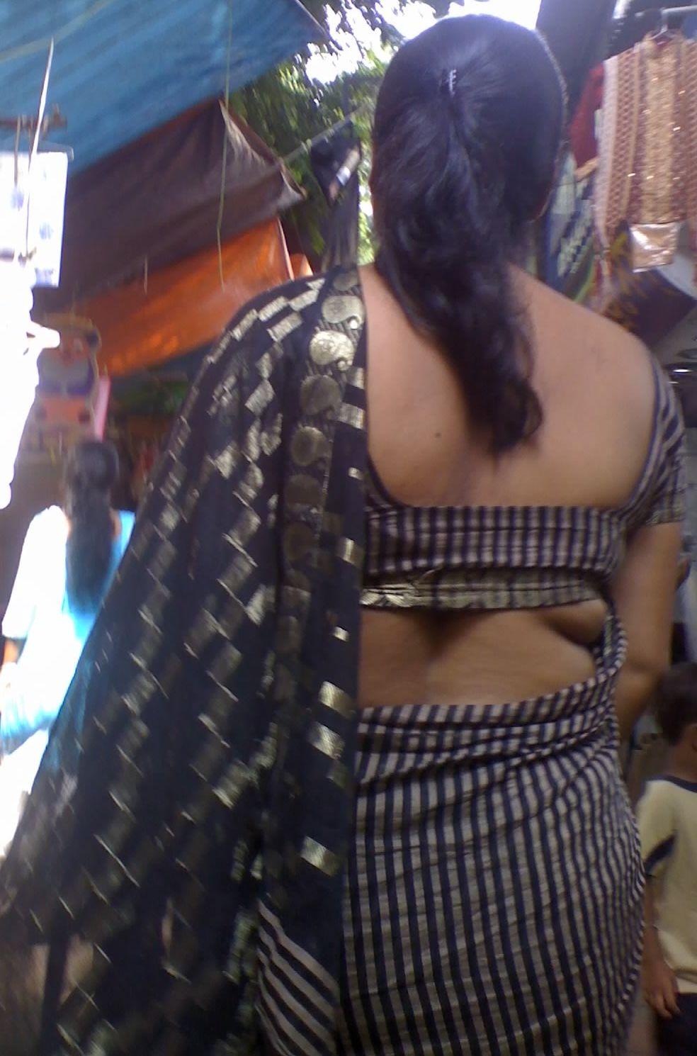 back desi nude blouse