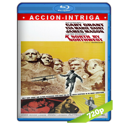 Intriga internacional (1959) BRRip 720p Audio Dual Castellano-Ingles 5.1