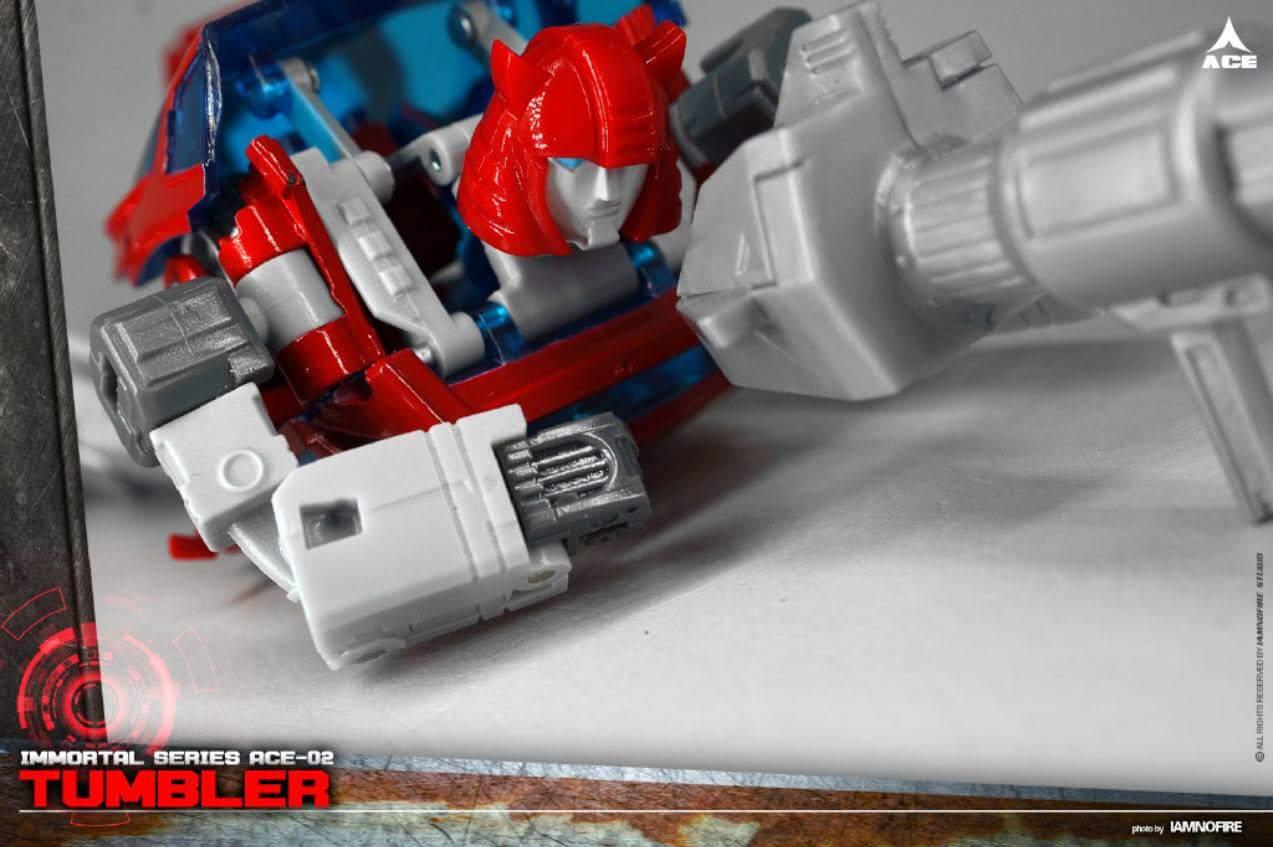 [ACE Collectables] Produit Tiers - Minibots MP - ACE-01 Tumbler (aka Cliffjumper/Matamore), ACE-02 Hiccups (aka Hubcap/Virevolto), ACE-03 Trident (aka Seaspray/Embruns) NZiKobSu
