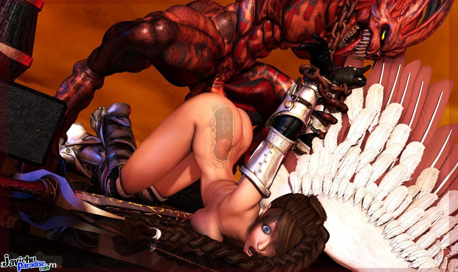 Демоны секс картинки 18 фотография