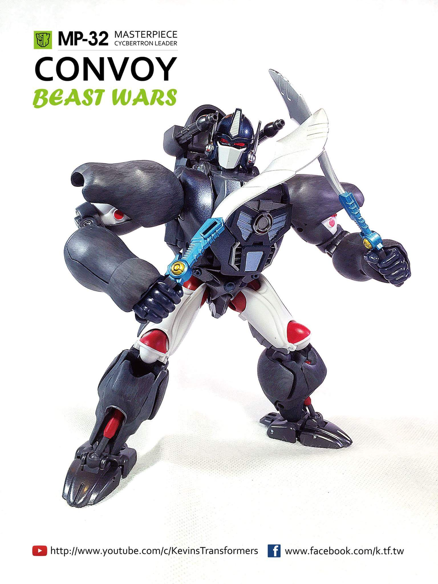 [Masterpiece] MP-32, MP-38 Optimus Primal et MP-38+ Burning Convoy (Beast Wars) - Page 3 GXTna8g8