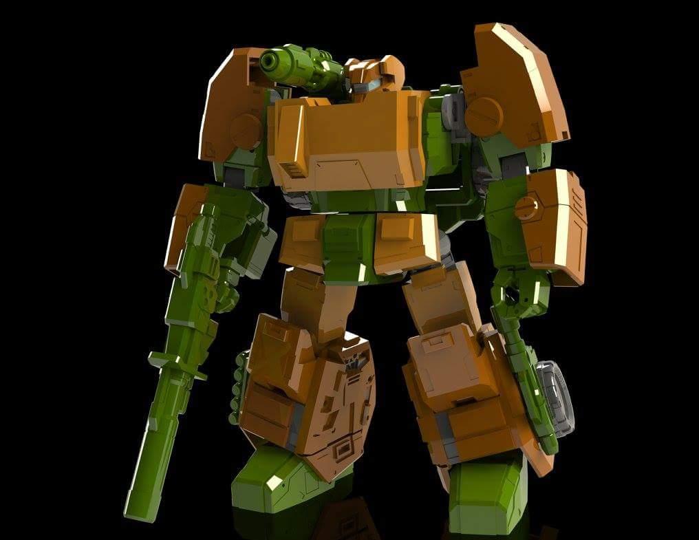 [FansHobby] Produit Tiers - Master Builder MB-07 Gun Buster - aka Roadbuster/Cahot des Wreckers IDW X1IhXsJf
