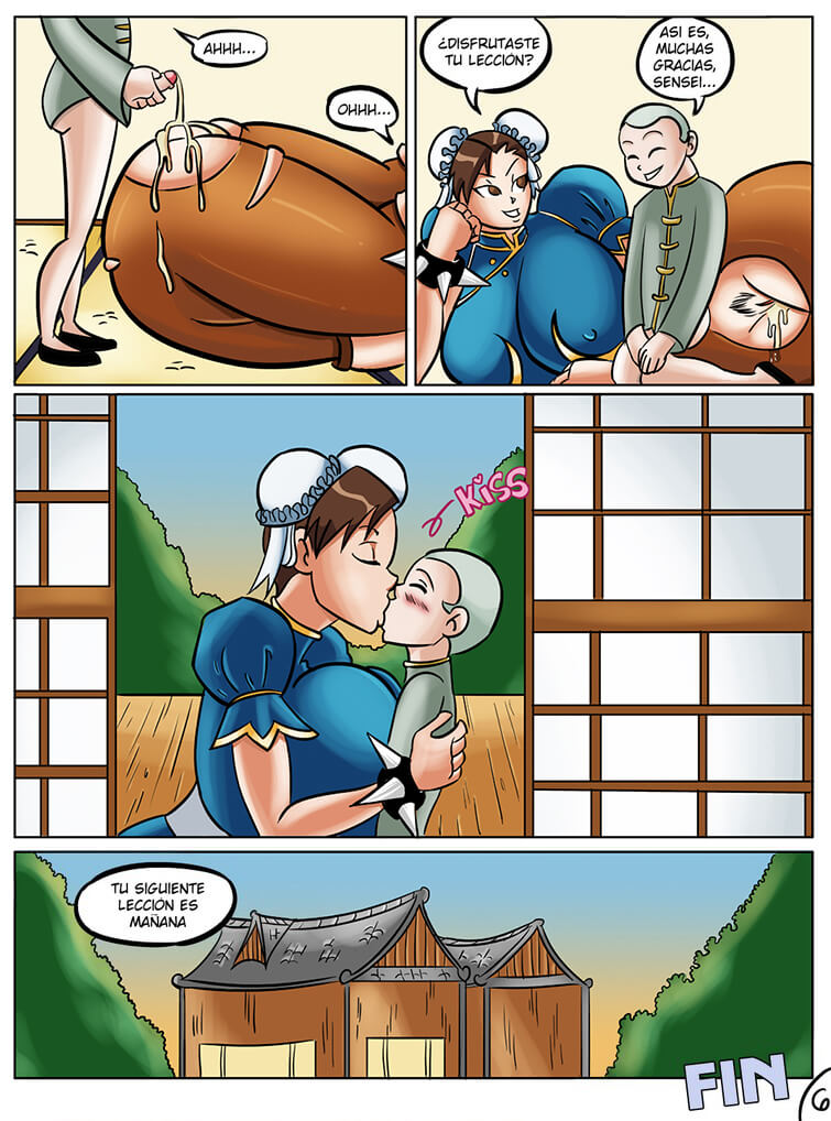 Chun-Li's Private Lesson 07