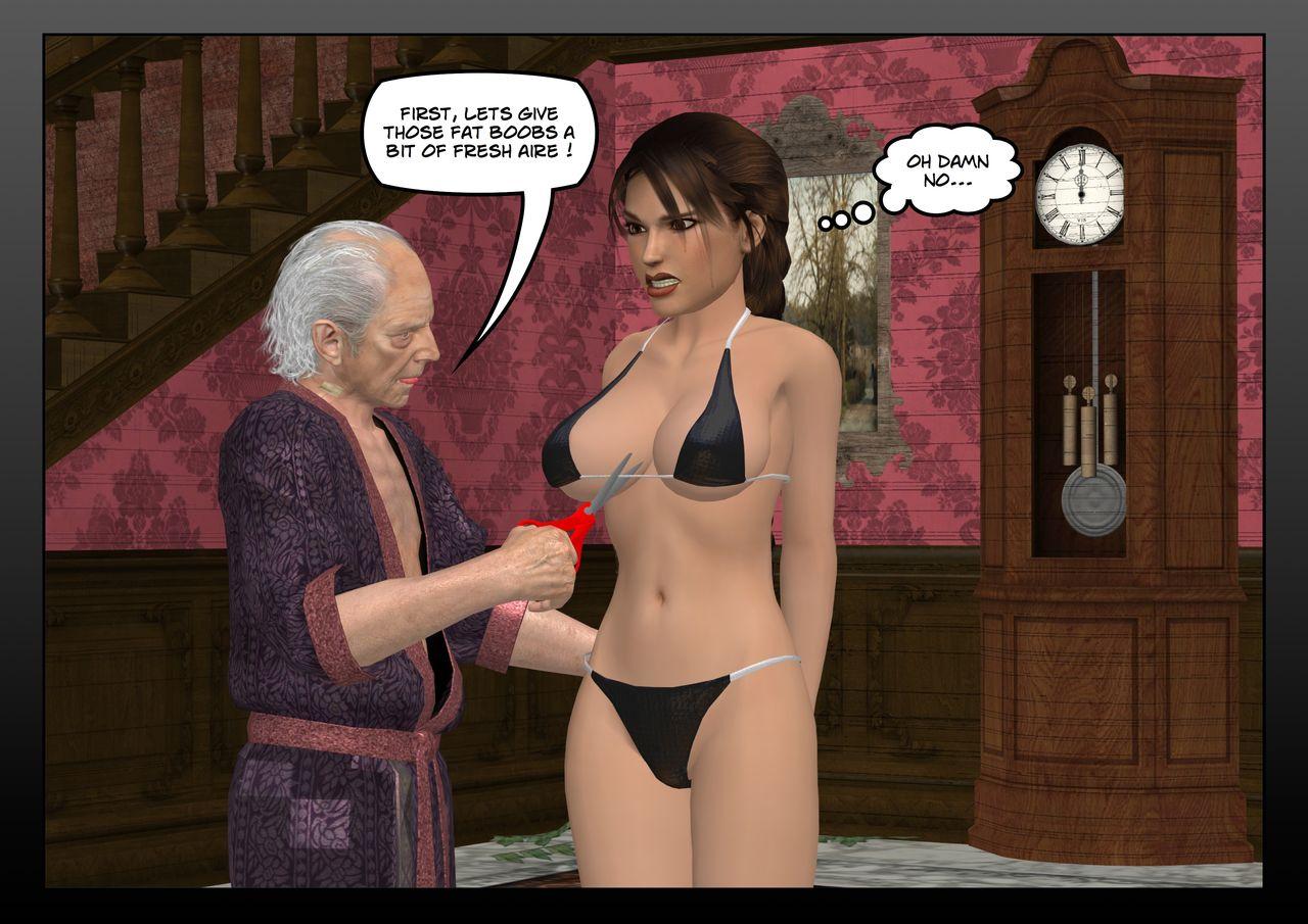8 pervert old men gangbang sexy santa girl 1