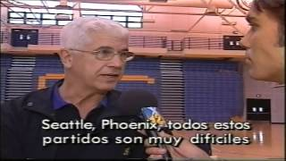 Entrevista a Del Harris coach de Los Angeles Lakers de 1999