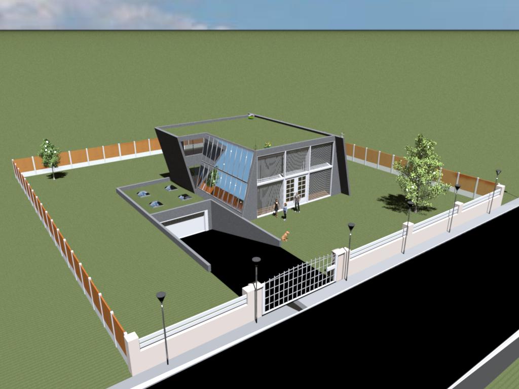 Home 3D Modern House