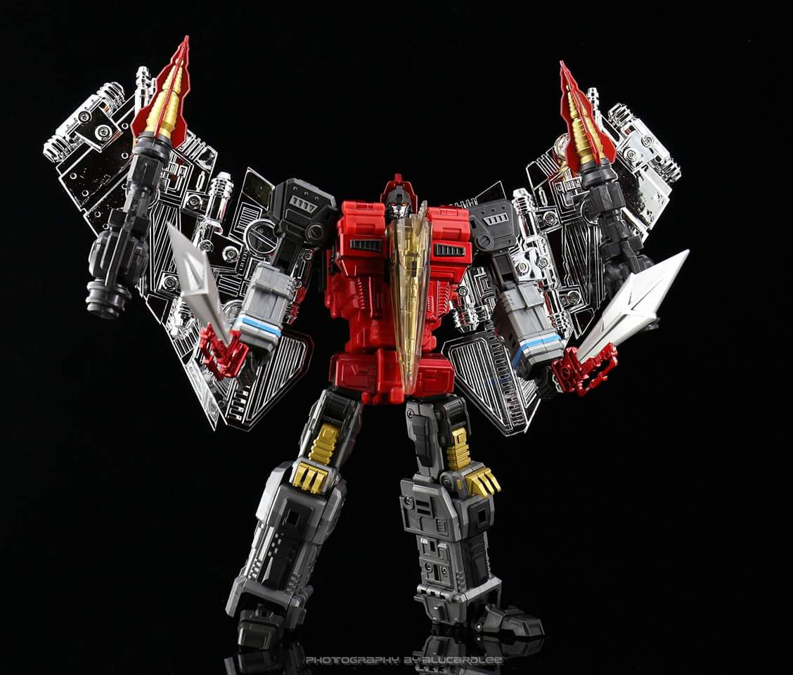 [GCreation] Produit Tiers - Jouet ShuraKing - aka Combiner Dinobots - Page 4 SQh2WEQo