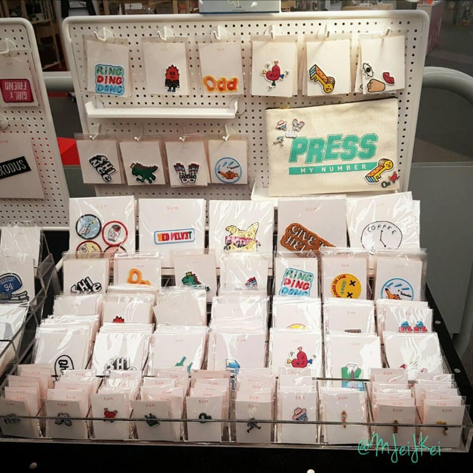 [IMG/160715] SHINee @ Parches (goods) SM Coex Artium  BeEWepCi