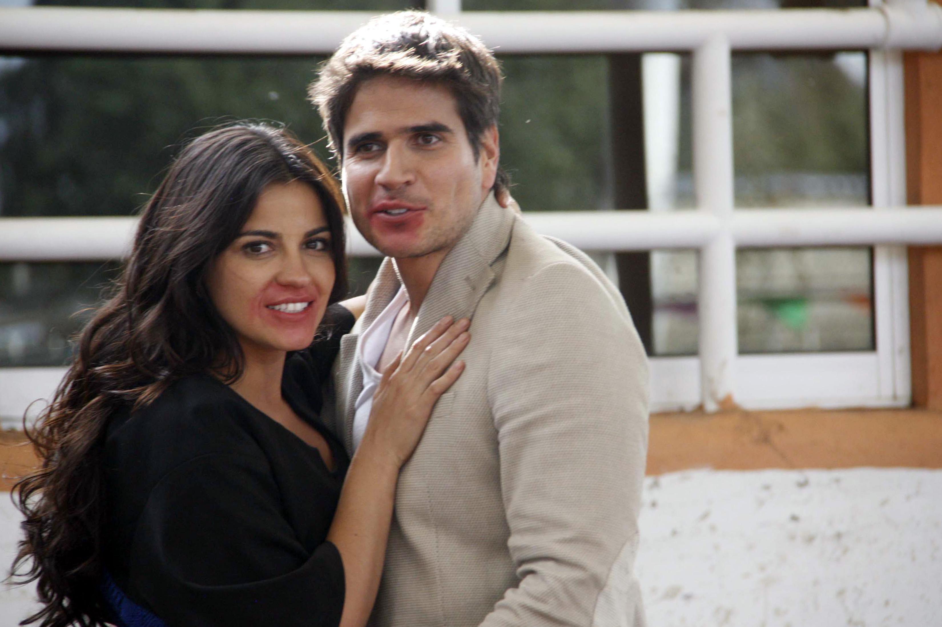 Daniel arenas y su novia mikaelle