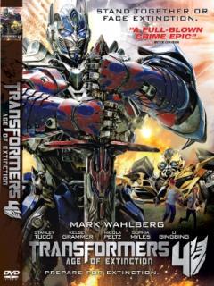 Transformers 4 La Era De La Extinción [2014][DVDrip][Latino][MultiHost]