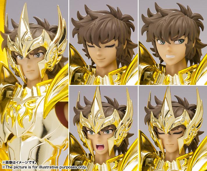 [Soul of Gold] Sagittarius Aiolos God Cloth