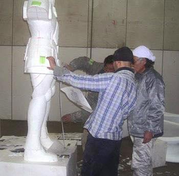 Processo de criação da Armadura de Gemeos para a exibição de Pachinko 2Hl6bJtP