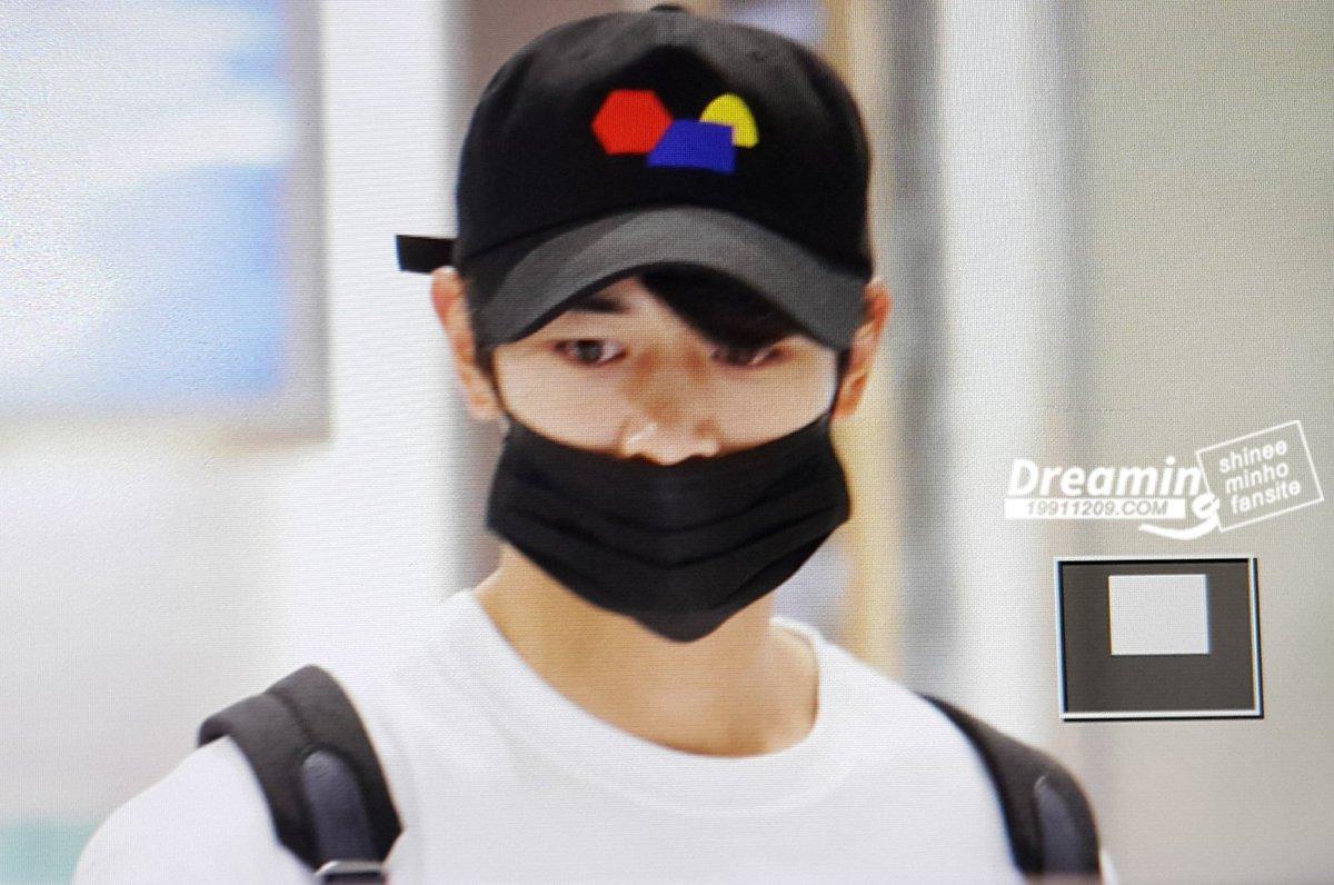 [IMG/160716] Minho @Aeropuerto Incheon. THmmEhPd