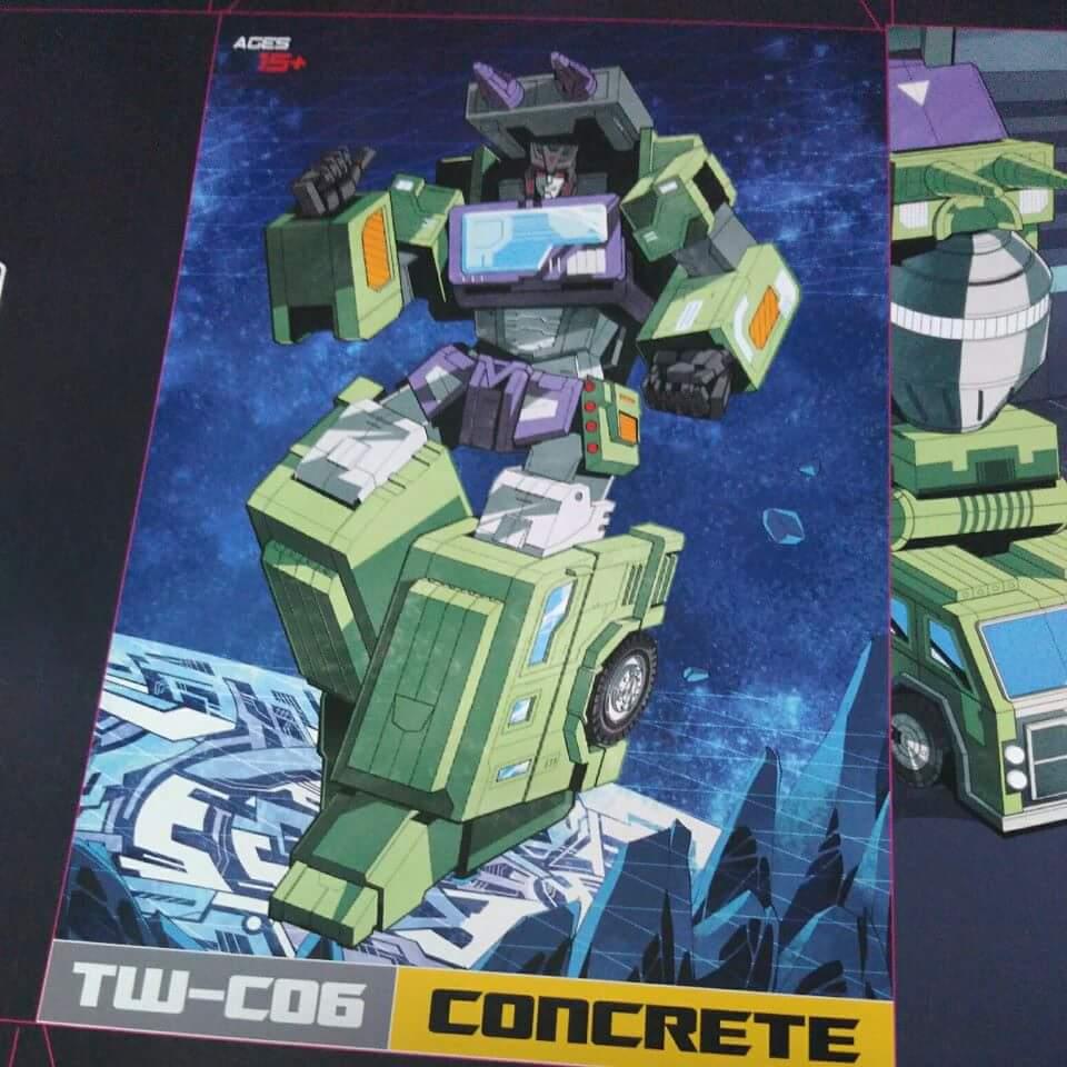 [Toyworld] Produit Tiers - Jouet TW-C Constructor aka Devastator/Dévastateur (Version vert G1 et jaune G2) - Page 3 Y0aPwFAI