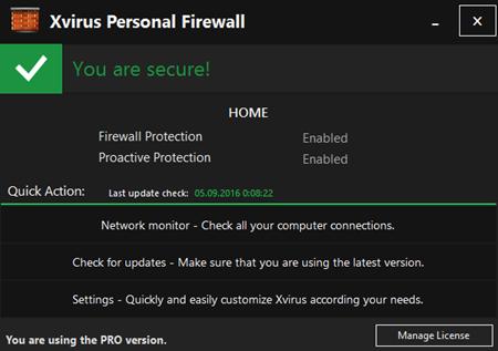 Xvirus Personal Firewall Pro 4.2.3.0