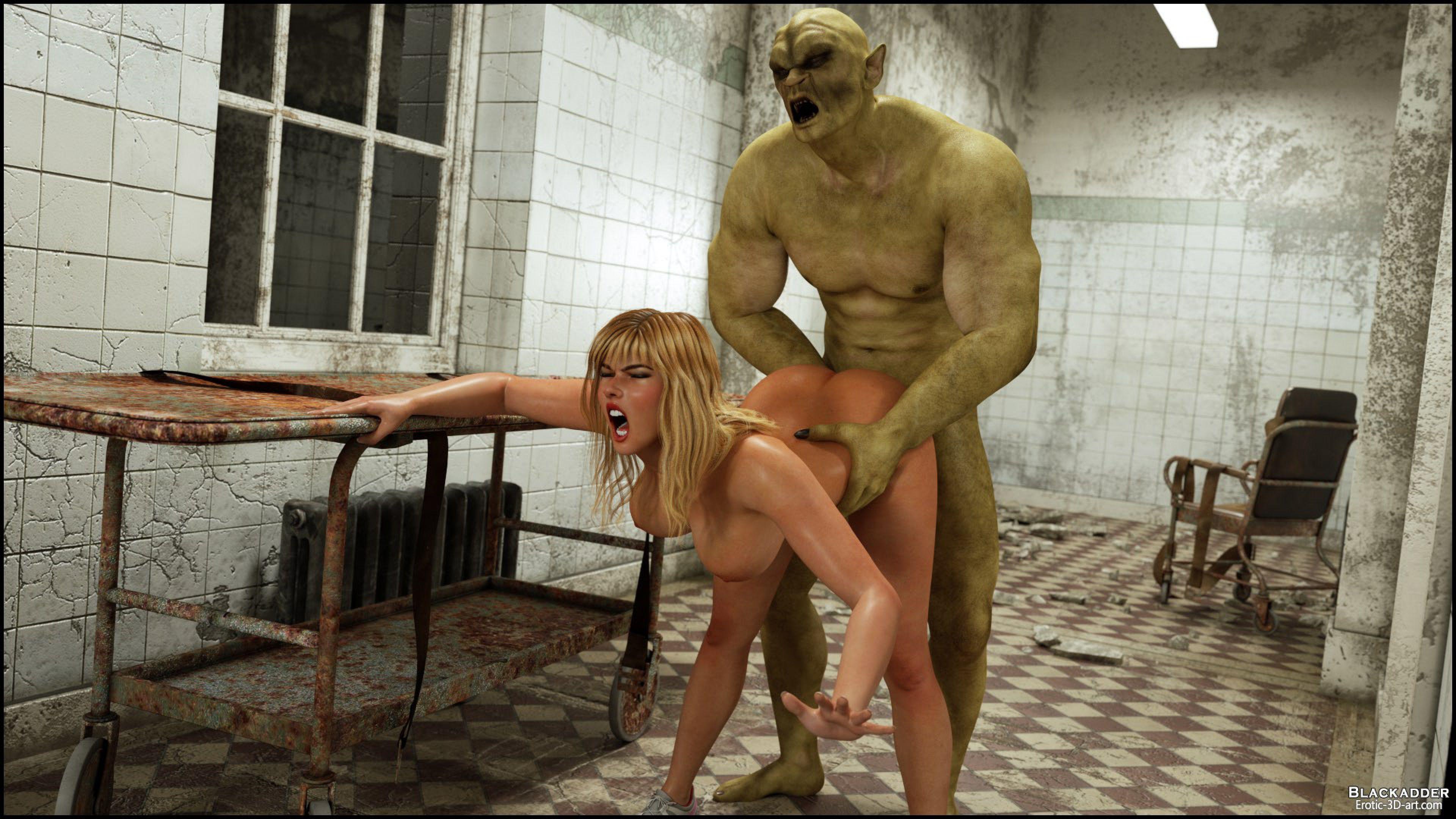 Bizarre 3d porn hentai comics