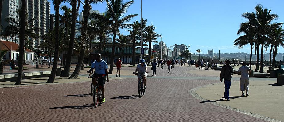 Fietsen Durban, Zuid-Afrika