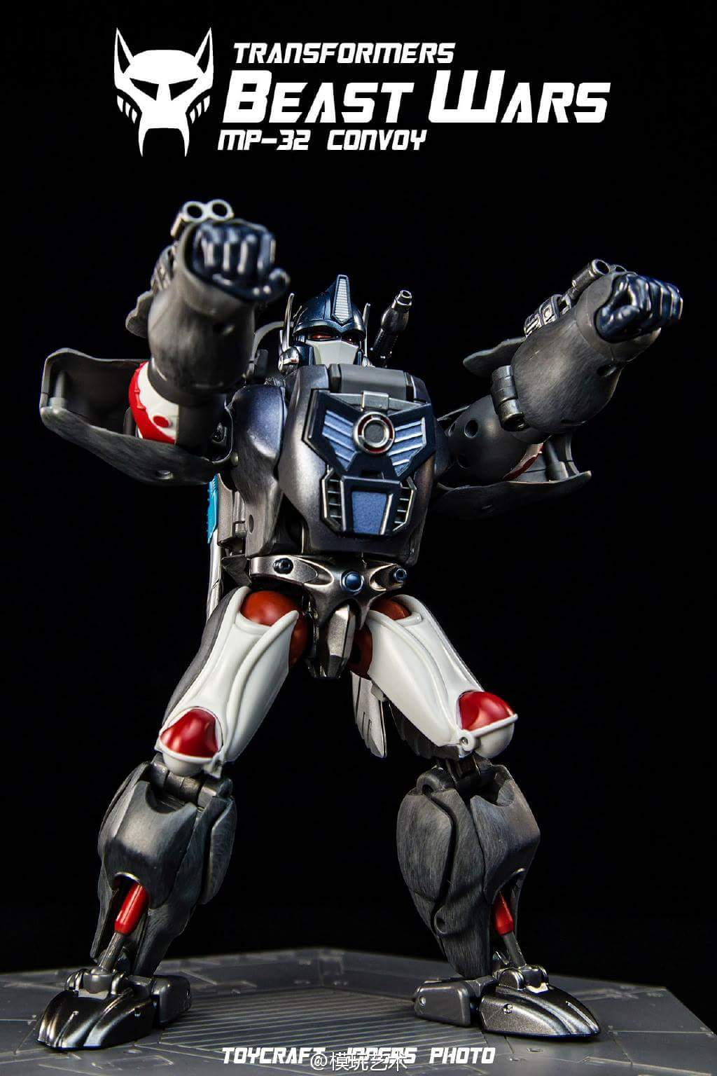[Masterpiece] MP-32, MP-38 Optimus Primal et MP-38+ Burning Convoy (Beast Wars) - Page 3 XIb9o6Nf
