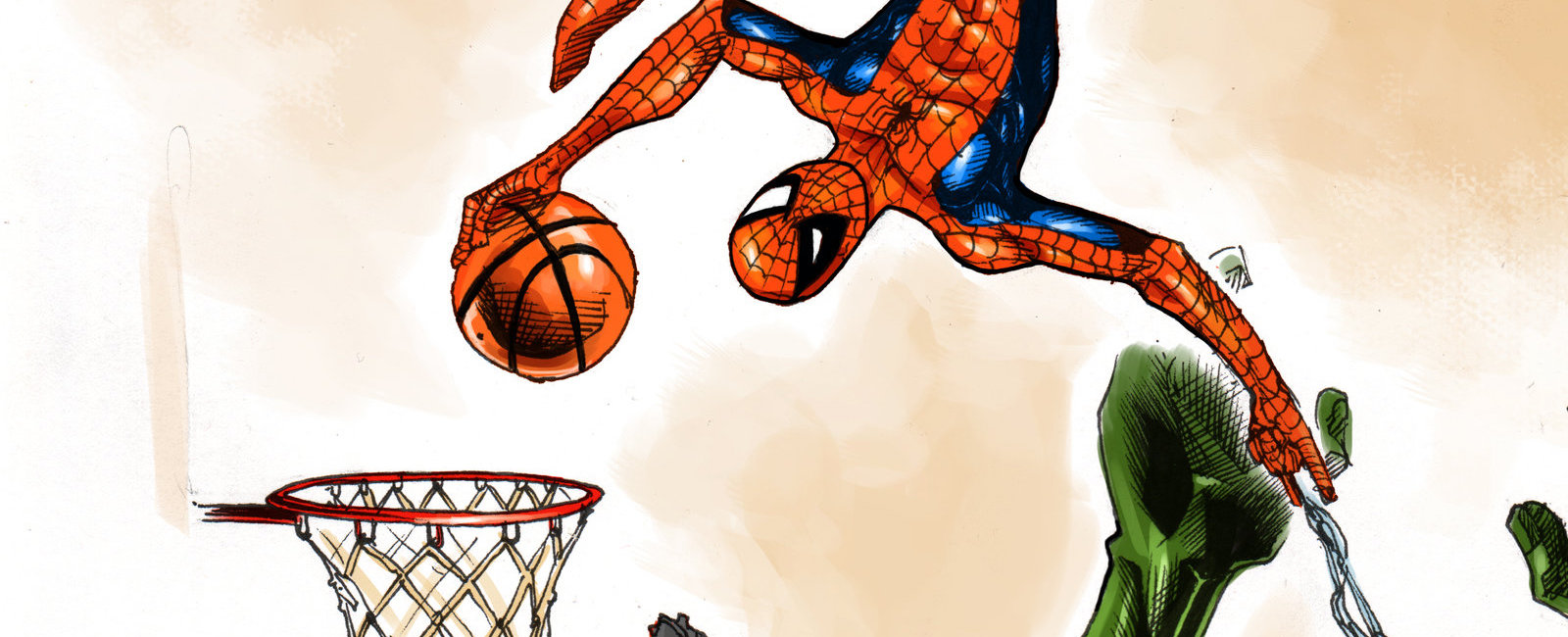 NBA Logos Get A Superhero Redesign In Awesome New Artwork