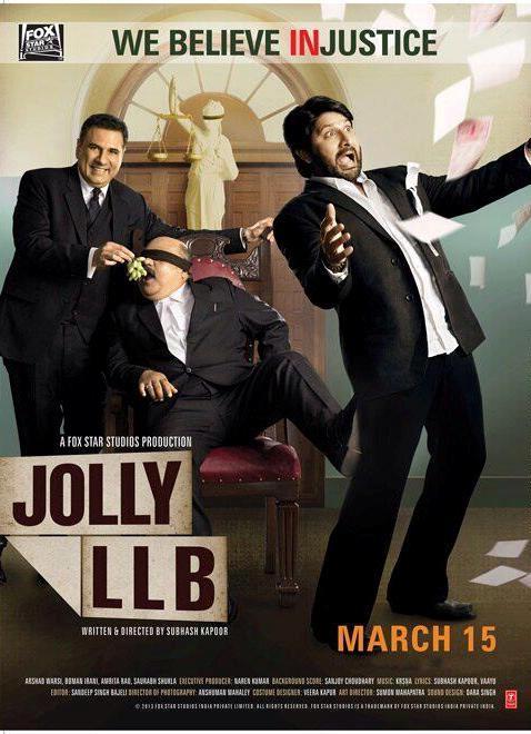 Jolly LLB (2013) Hindi 480p 720p DvDrip x264 Movie Download