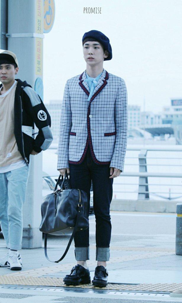 [IMG/160715] Jonghyun, Key @ Aeropuerto Incheon hacia Japón. P6xPpCbq