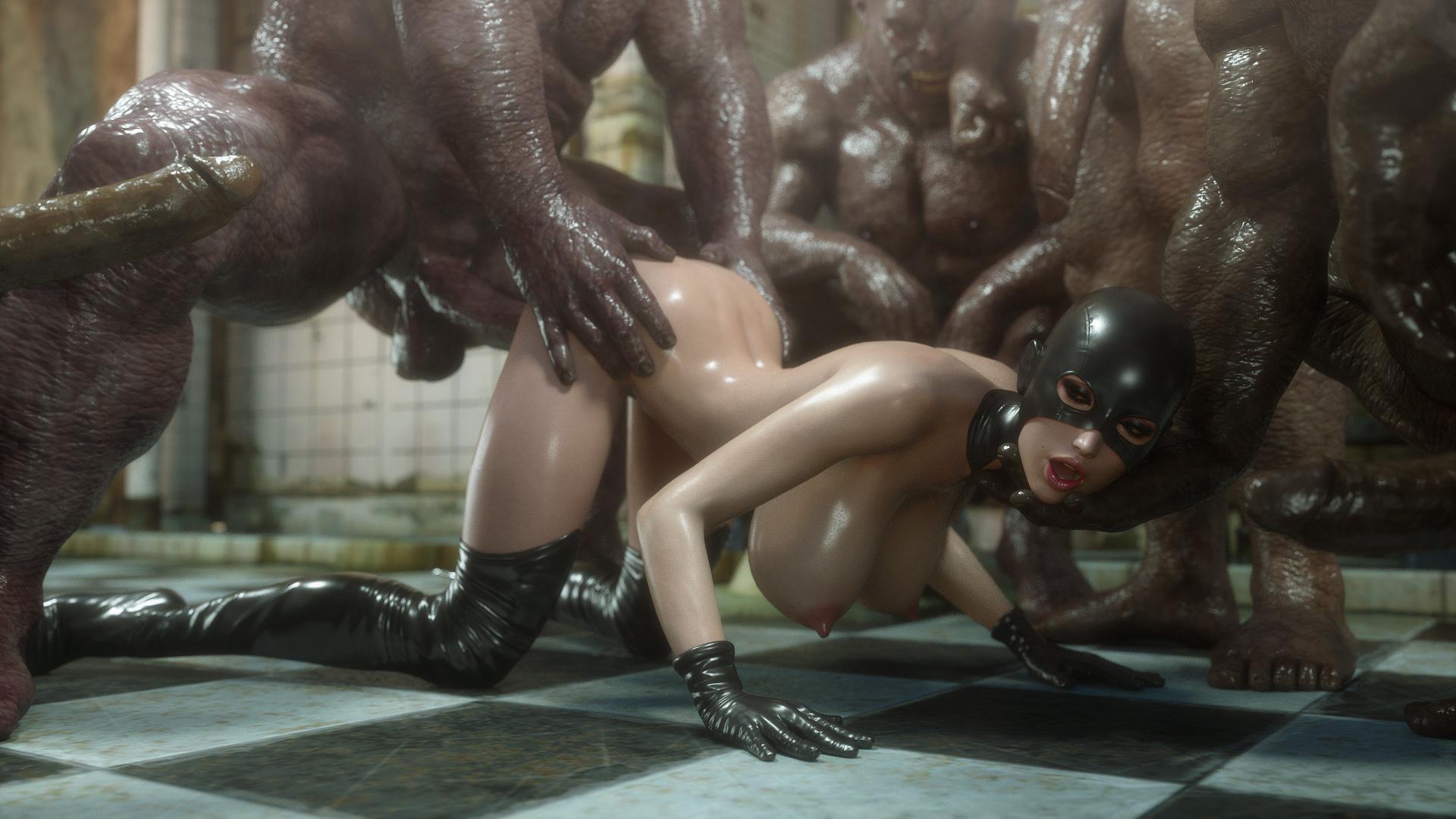 горячее порно члены мутанты часть 1