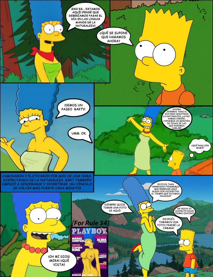 marge Bart cartoon porn simpson and