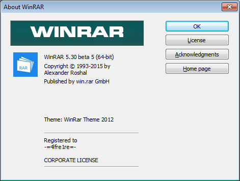WinRAR 5 30 beta 5 - Frontpage Software Updates - nsane forums