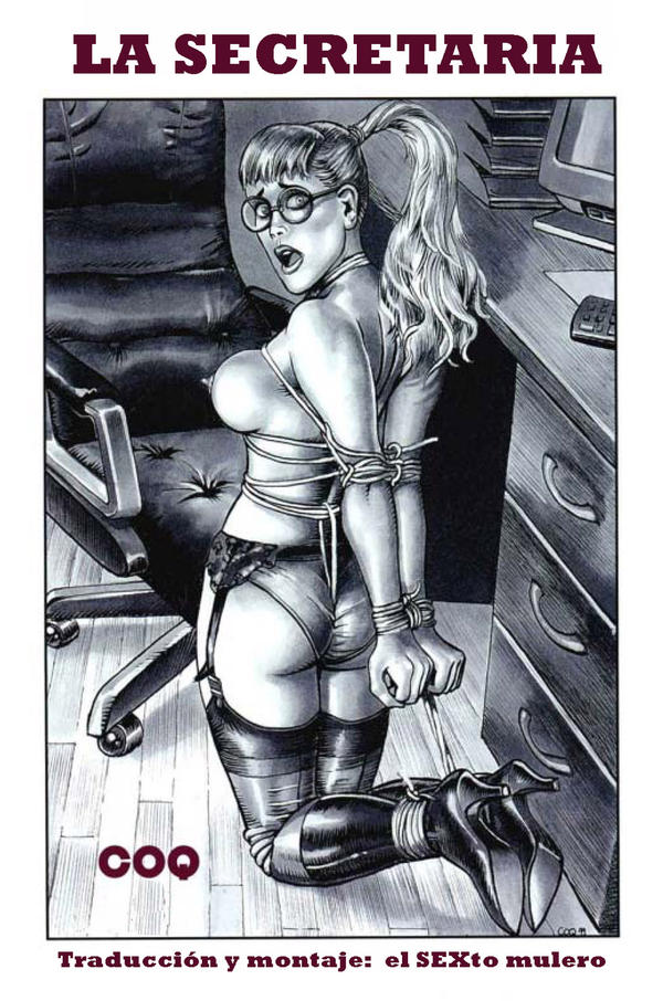 La secretaria adulta comic