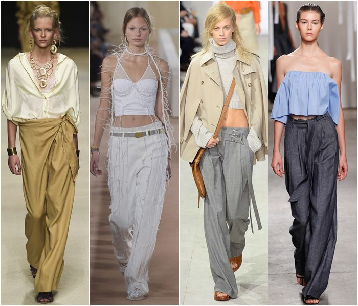 Wide baggy pants spring/summer 2016