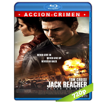 Jack Reacher 2 Sin Regreso 720p Lat-Cast-Ing 5.1 (2016)