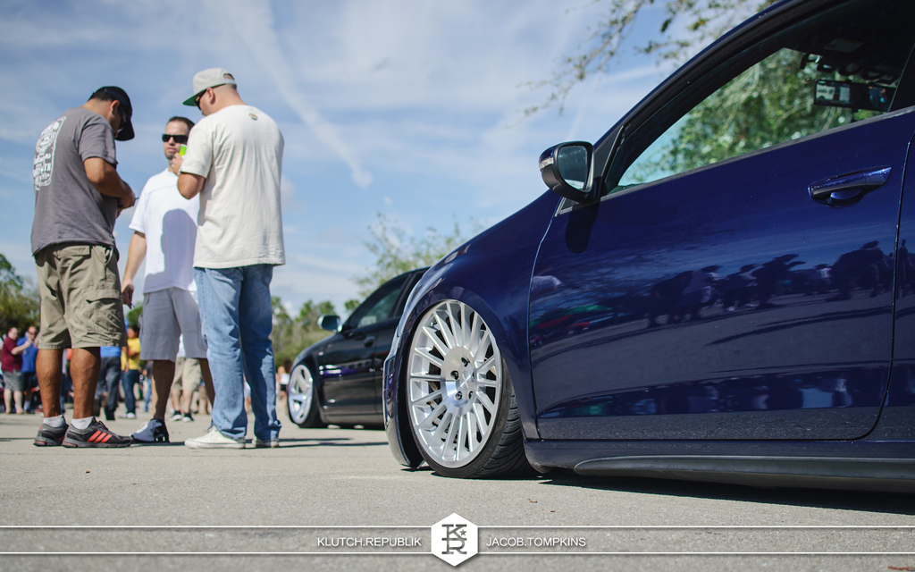 bagged mk6 rotiform wheels