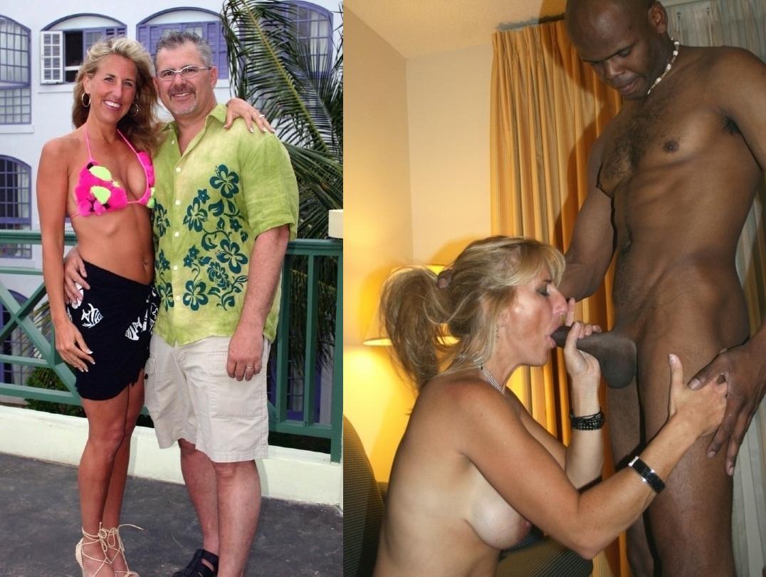 Blancas sexy MILF esposas