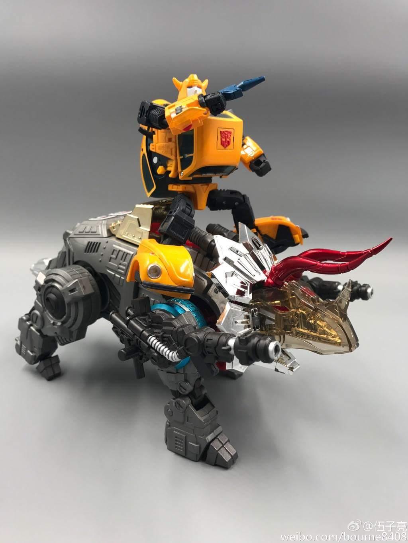 [GCreation] Produit Tiers - Jouet ShuraKing - aka Combiner Dinobots - Page 6 F14WCdxS