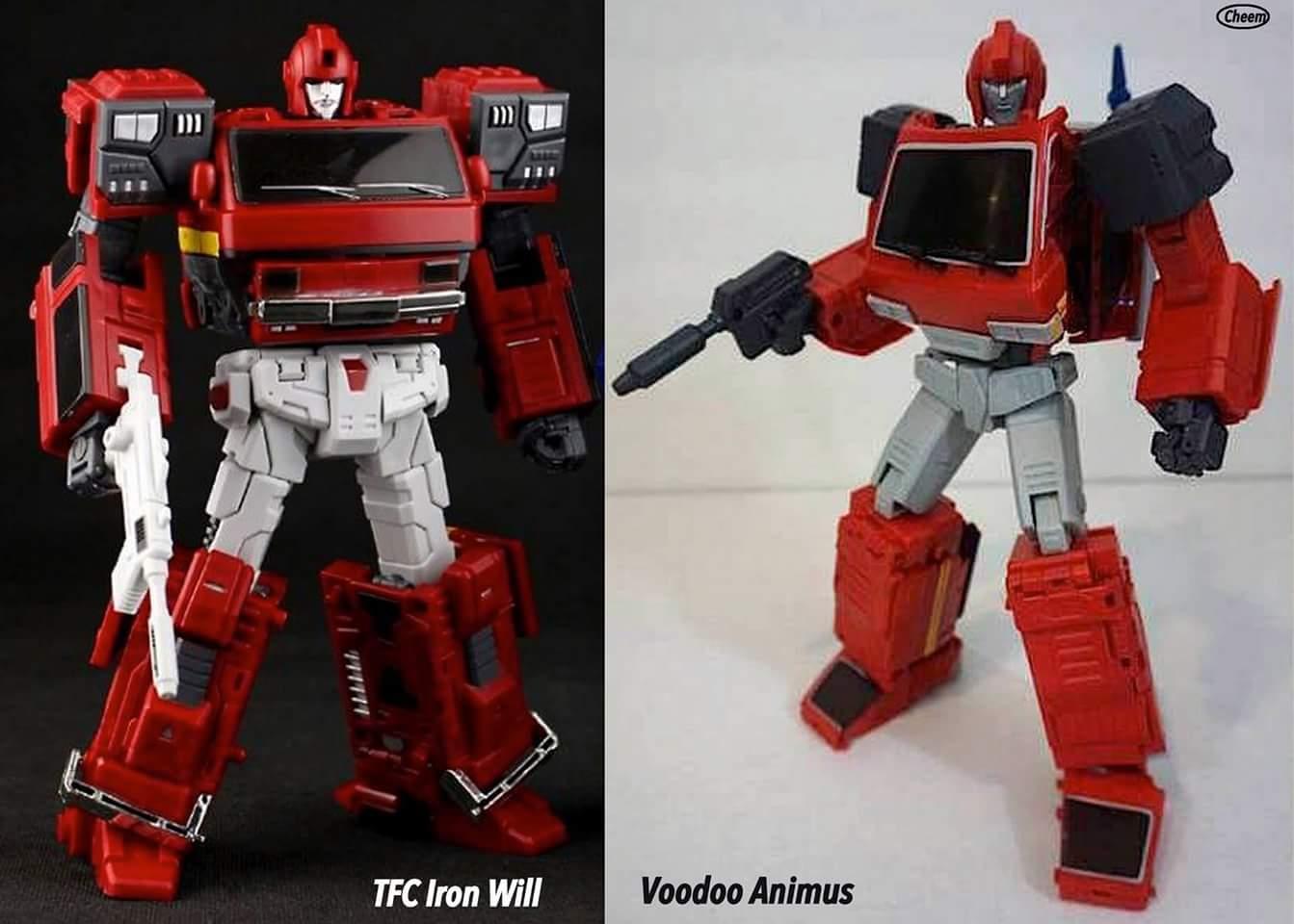 [Voodoo Robots] Produit Tiers - Salus (aka Ratchet/Mécano) & Animus (aka Ironhide/Rhino) LEmGiWb0