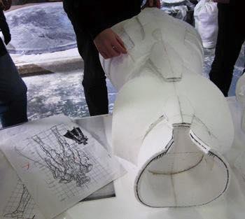 Processo de criação da Armadura de Gemeos para a exibição de Pachinko VHOFis9T