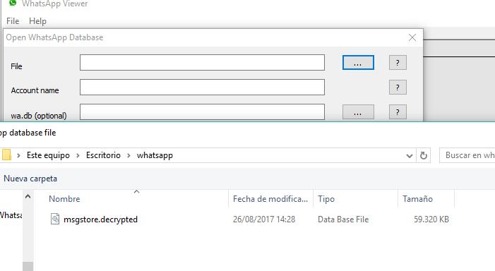 Descriptografar backups do WhatsApp sem a necessidade de uma chave