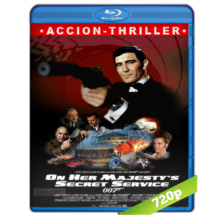 007 Al Servicio Secreto De Su Majestad (1969) BRRip 720p Audio Trial Latino-Castellano-Ingles 5.1